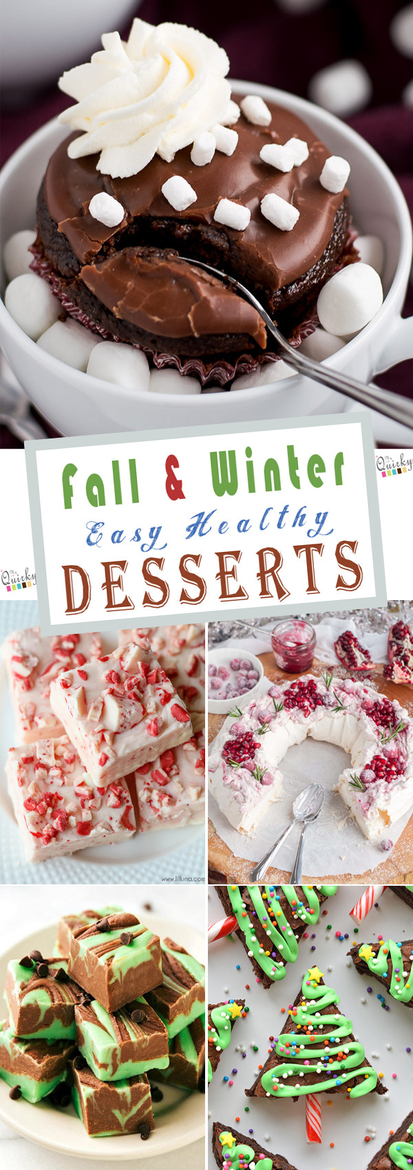 Easy To Make Healthy Desserts  23 Fall & Winter Easy Healthy Desserts To Make At Home