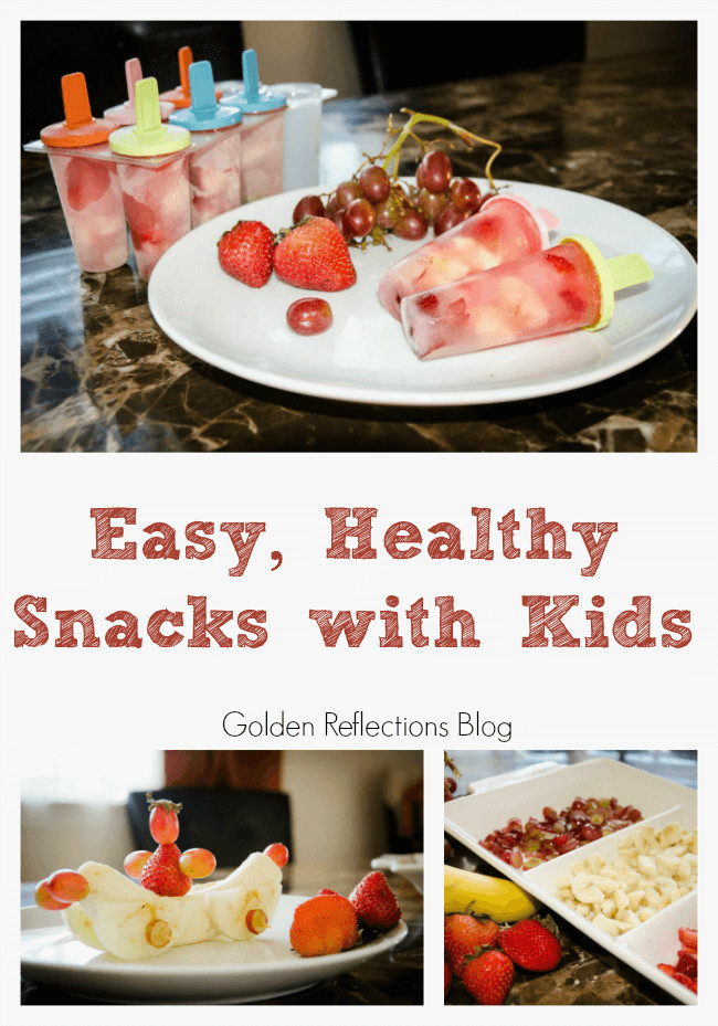Easy To Make Healthy Snacks  Making Easy and Healthy Snacks with Kids
