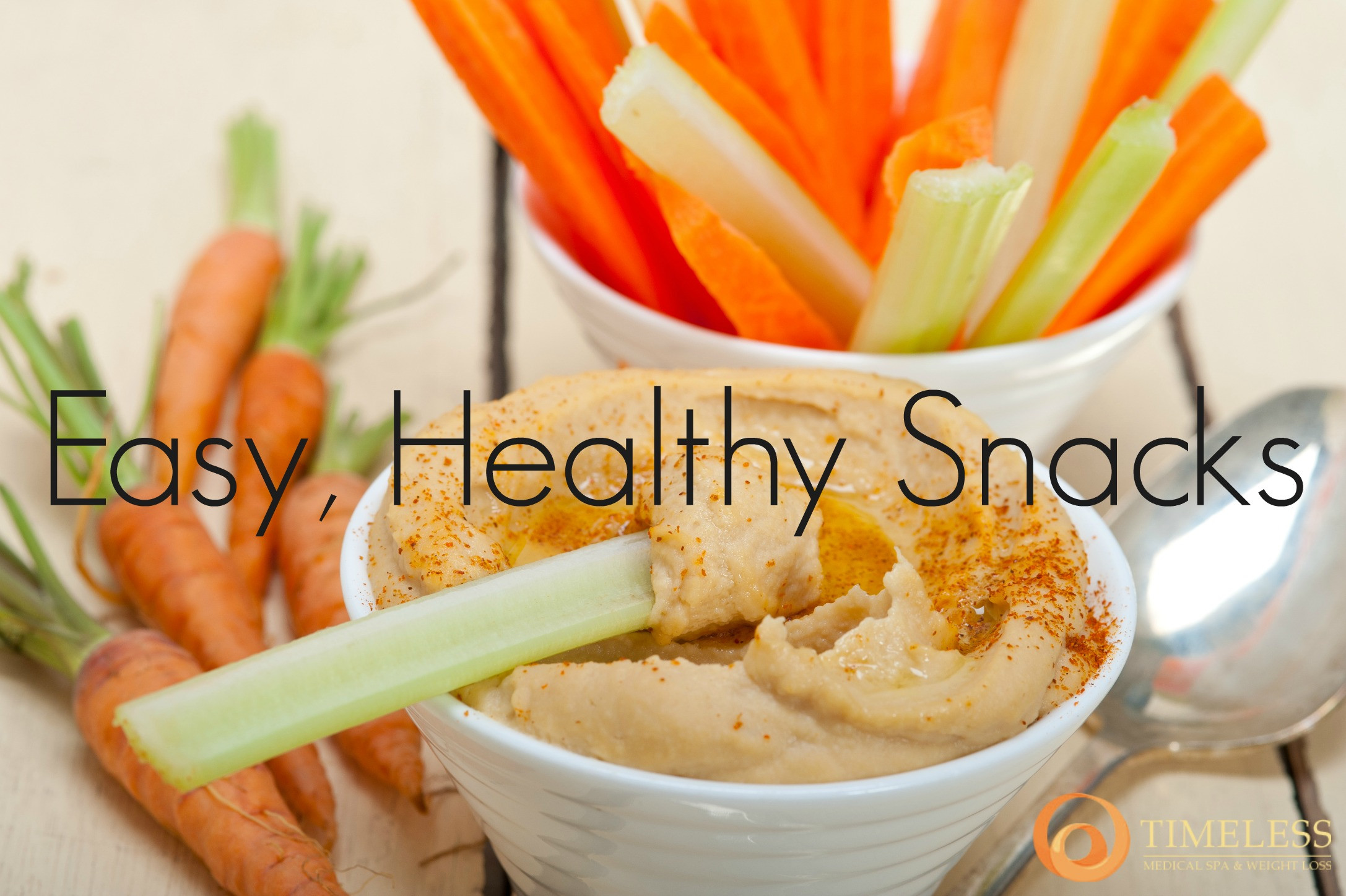 Easy To Make Healthy Snacks  Easy Healthy Snack Ideas TimeLess Weight Loss Blog