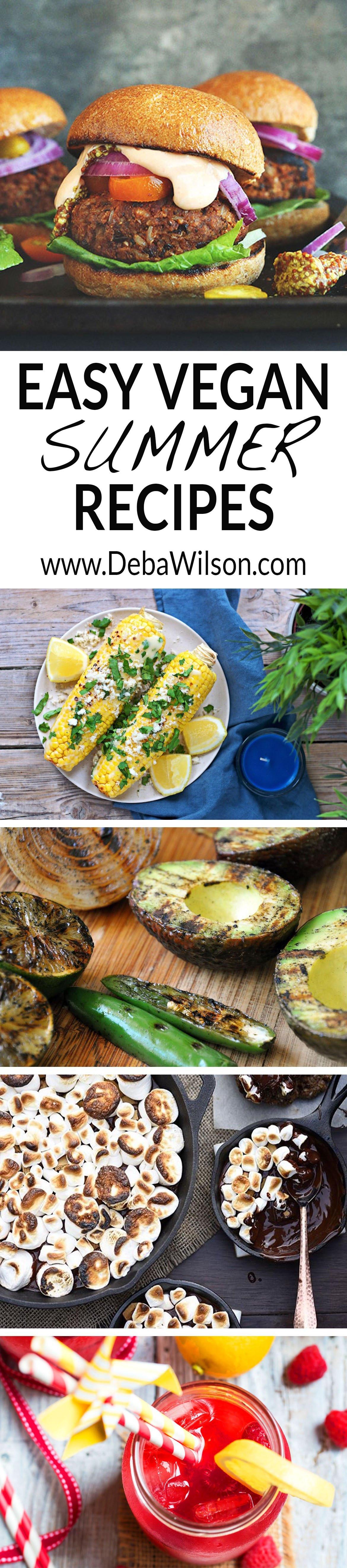 Easy Vegan Summer Recipes  Easy Vegan Summer Recipes