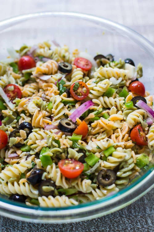Easy Vegan Summer Recipes  Quick & Easy Pasta Salad