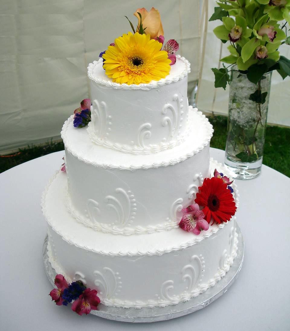 Easy Wedding Cakes  Easy Wedding Cake Decorating Ideas Wedding and Bridal