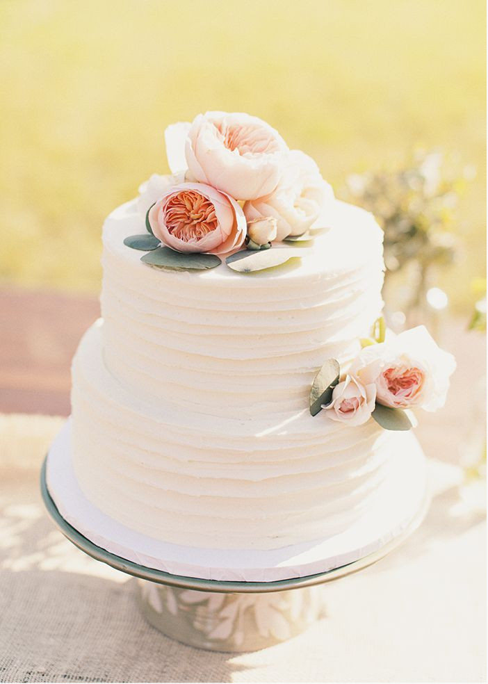 Easy Wedding Cakes  Simple Wedding Cake