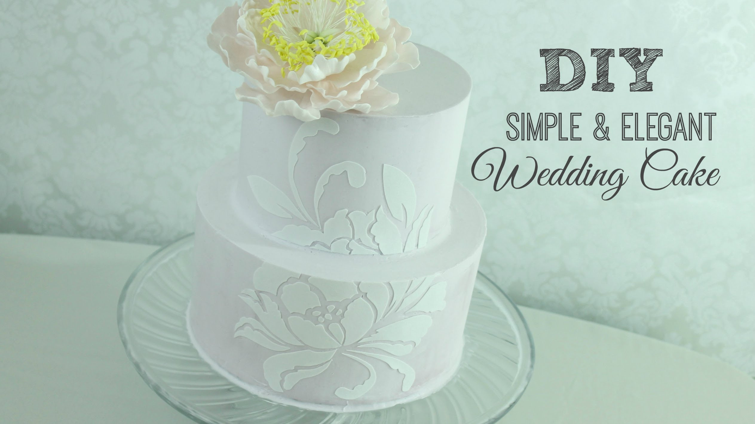 Easy Wedding Cakes To Make Yourself  Easy wedding cakes to make yourself idea in 2017