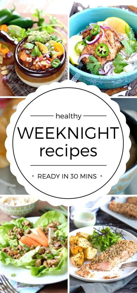 Easy Weeknight Dinners Healthy  Healthy Food Recipes for Easy Weeknight Dinners