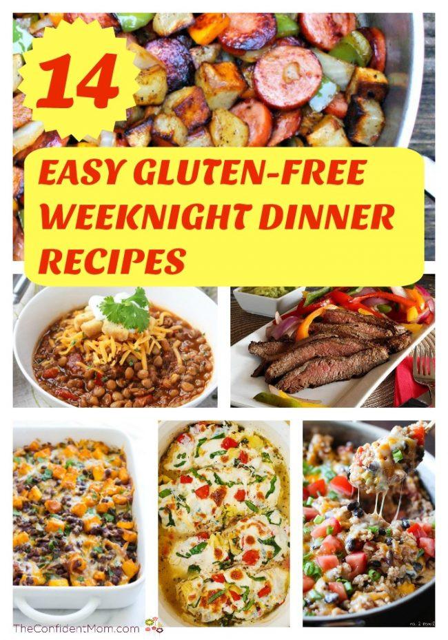 Easy Weeknight Summer Dinners  14 Easy Gluten Free Weeknight Dinner Recipes The