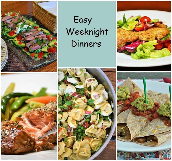 Easy Weeknight Summer Dinners  Five Easy Weeknight Dinners Jersey Girl Cooks