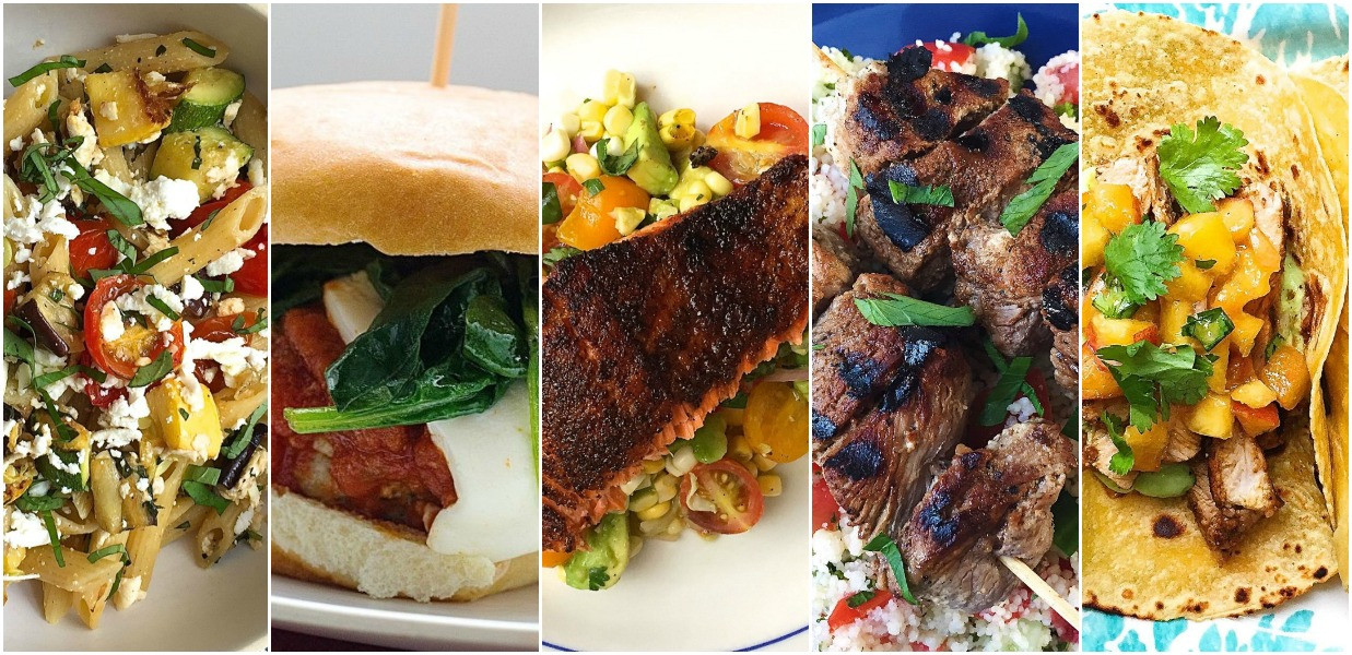 Easy Weeknight Summer Dinners  Weeknight Dinner Recipes What to Make for Dinner