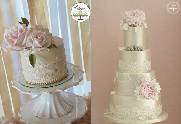 Edible Lace For Wedding Cakes  Edible Lace Wedding Cakes – Cake Geek Magazine