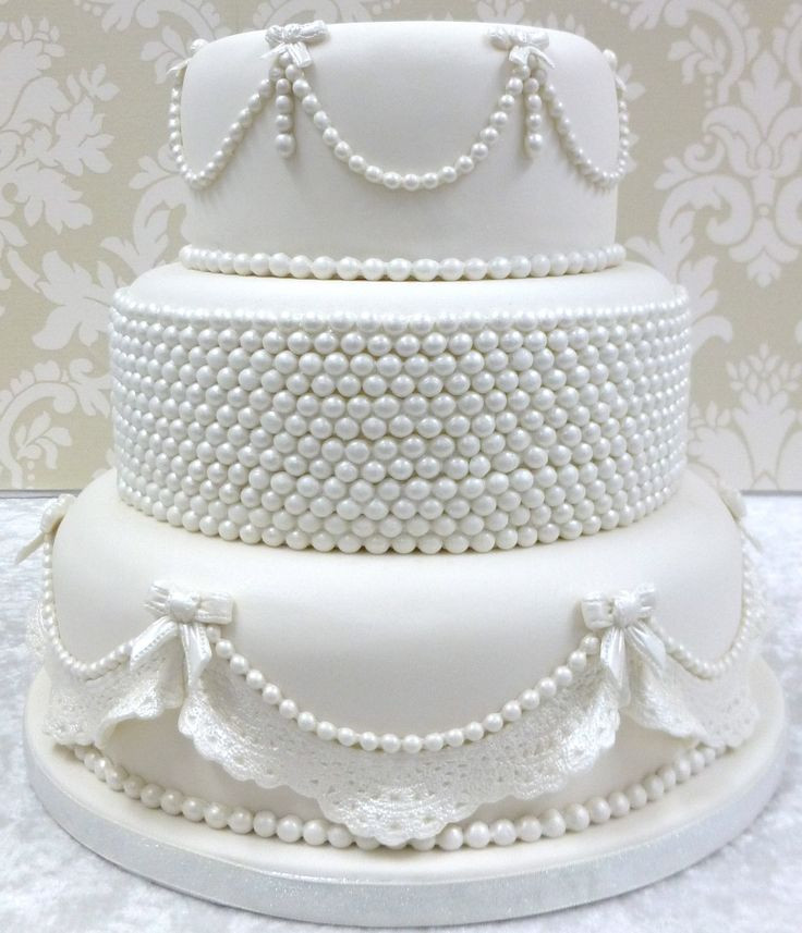 Edible Pearls For Wedding Cakes  28 best Sugar Pearls images on Pinterest