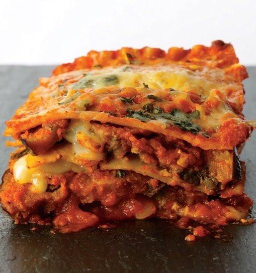 Eggplant Lasagna Healthy  Eggplant Parmesan Lasagna – What2Cook