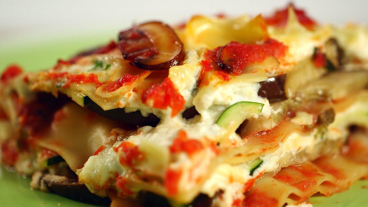 Eggplant Lasagna Healthy  Healthy Eggplant Lasagna Recipe HealthiNation