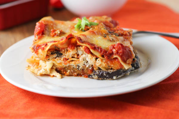 Eggplant Lasagna Healthy  Eggplant Parmesan Lasagna