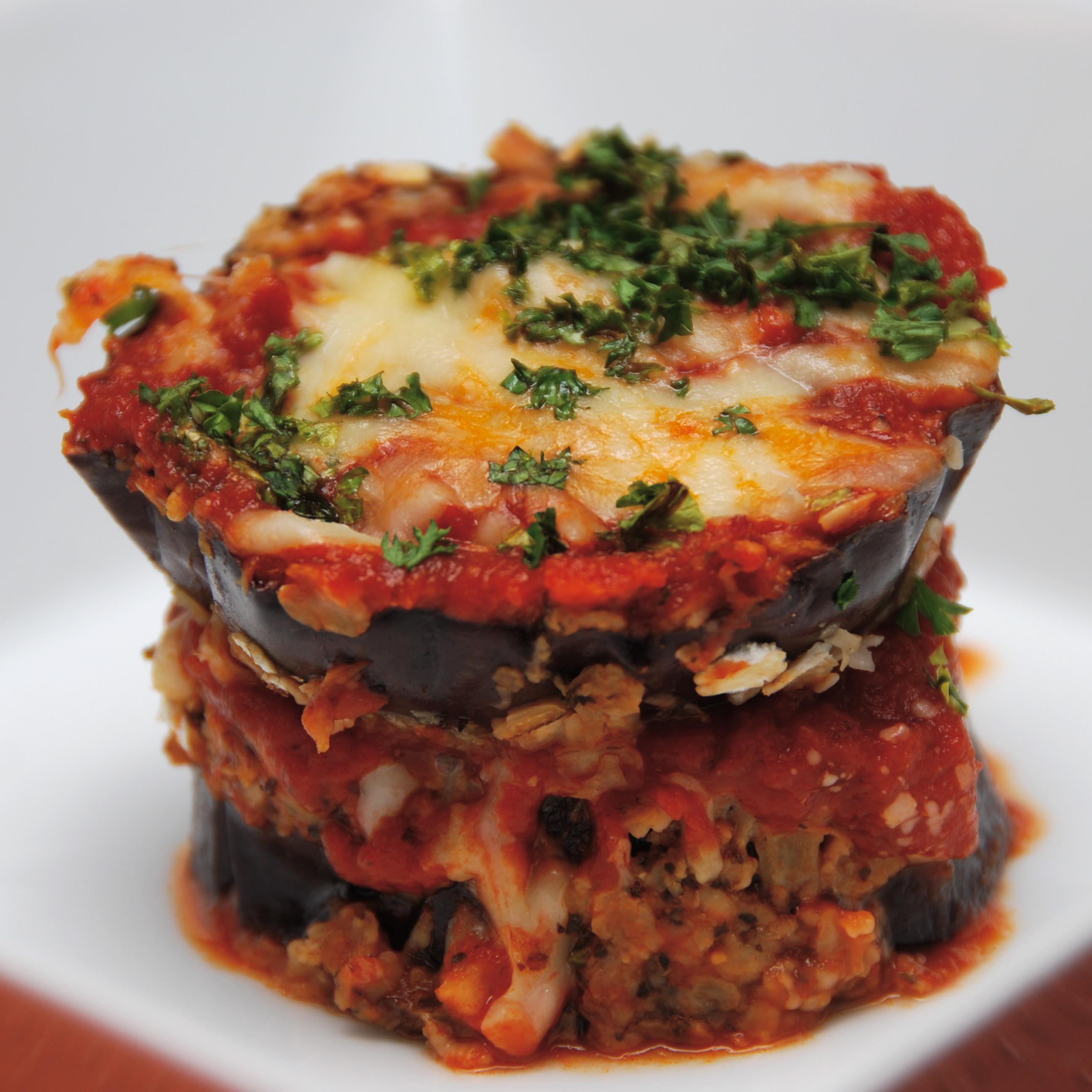 Eggplant Lasagna Healthy  Eggplant Lasagna