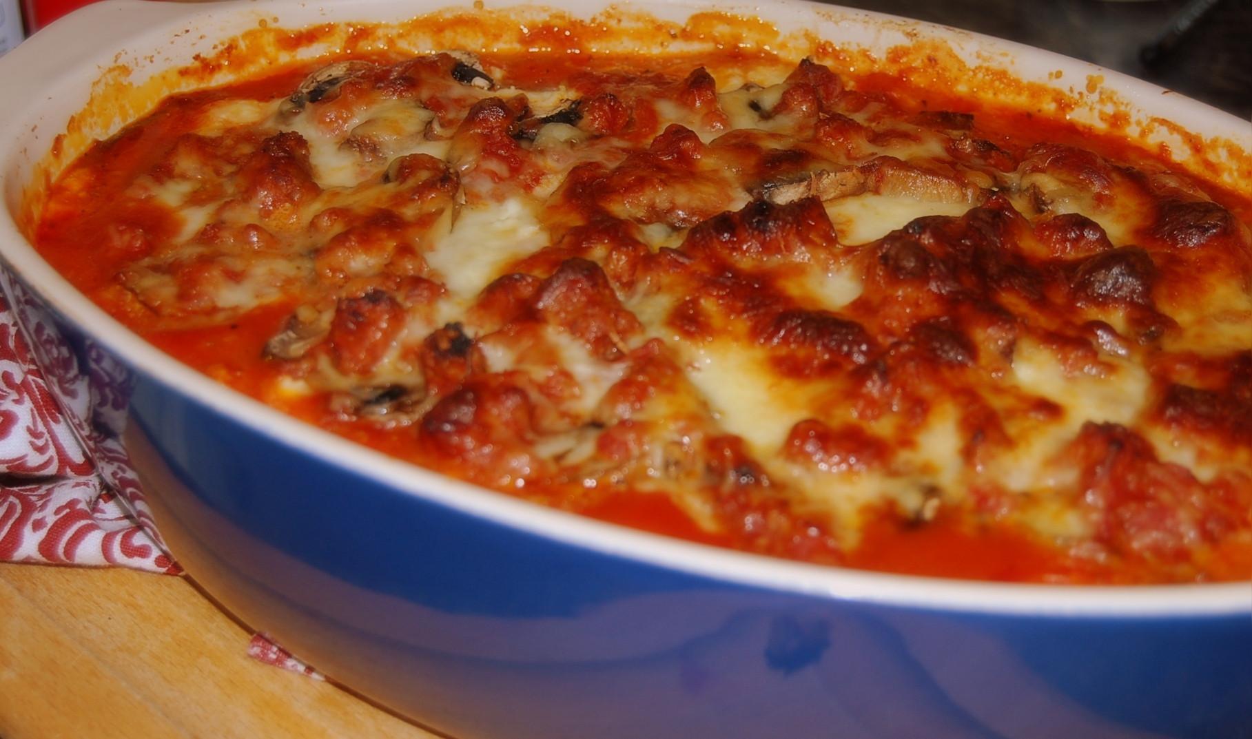 Eggplant Lasagna Healthy  Healthy Eggplant Lasagna With Meat