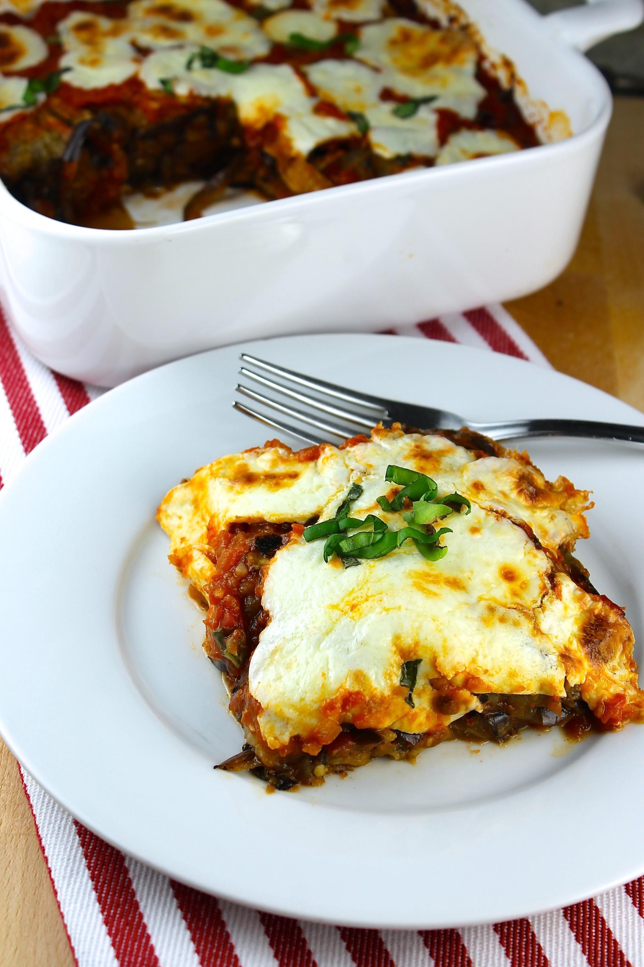 Eggplant Lasagna Healthy  Eggplant Lasagna Irresistibly Healthy SAVOIR FAIRE by