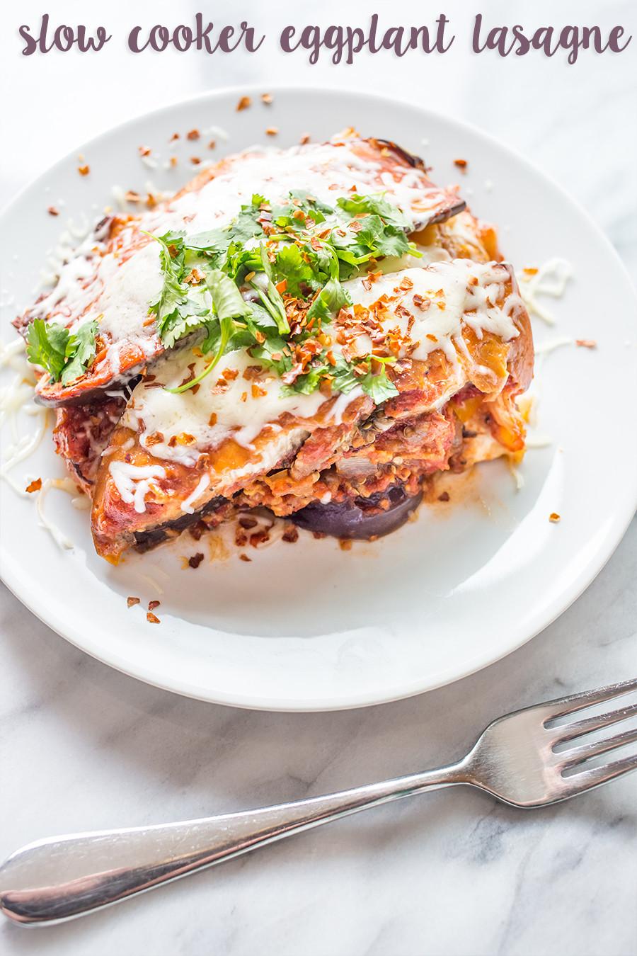 Eggplant Lasagna Healthy  VEGGIE FY YOUR FOOD SPUD