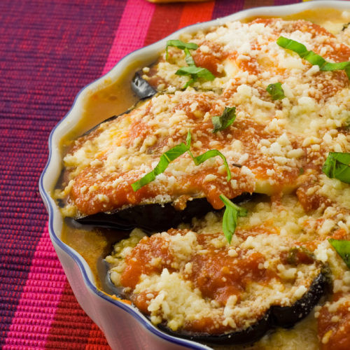 Eggplant Parmesan Healthy  Healthy Eggplant Parmesan Get Healthy U