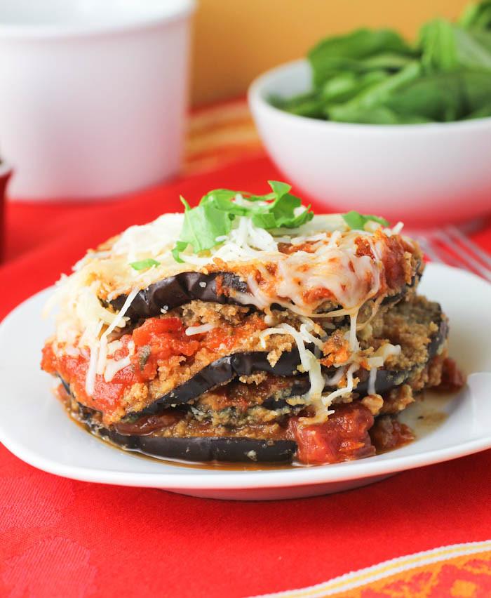 Eggplant Recipes Healthy  Eggplant Parmesan Recipe — Dishmaps