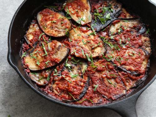 Eggplant Recipes Healthy  eggplant tomato bake