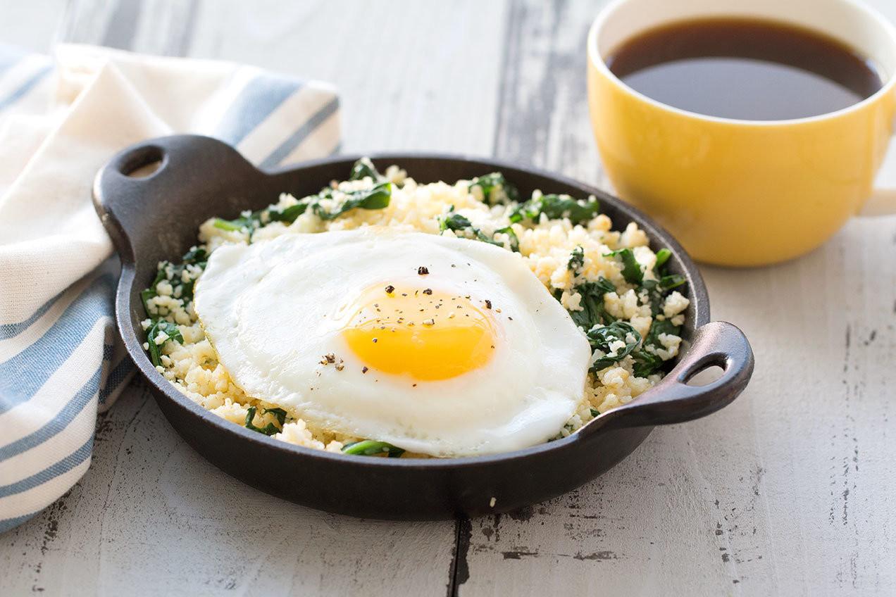 Eggs For Breakfast Healthy  Healthy Egg Topped Breakfast Hash Recipe