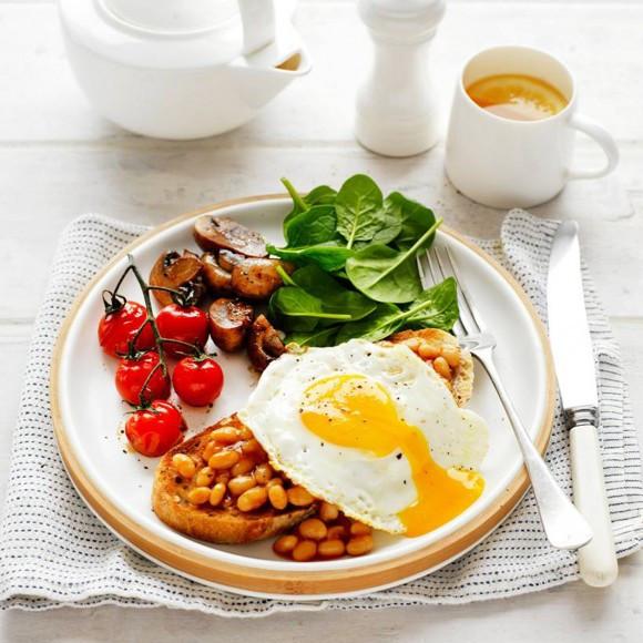 Eggs For Breakfast Healthy  Healthy Egg Vegie Breakfast Recipe myfoodbook