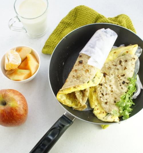 Eggs For Breakfast Healthy  Healthy & Fast Breakfast Egg Roll