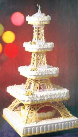 Eiffel Tower Wedding Cakes  Eiffel Tower cake Discover French temptations for