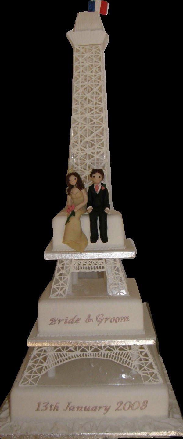 Eiffel Tower Wedding Cakes  Eiffel Tower Cake by cakesunlimited on DeviantArt