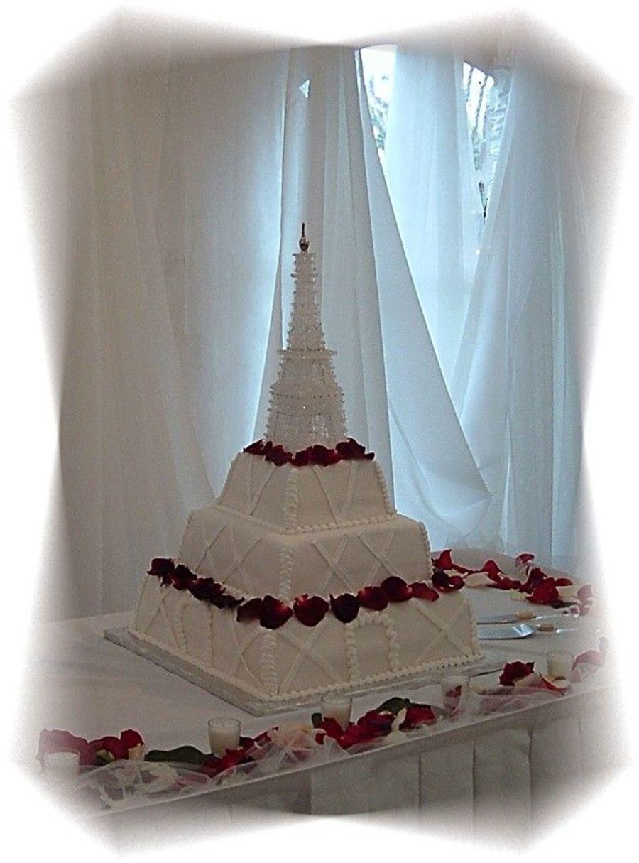 Eiffel Tower Wedding Cakes  Eiffel Tower Wedding Cake CakeCentral