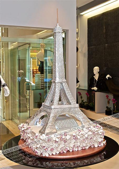 Eiffel Tower Wedding Cakes  Eiffel tower cake