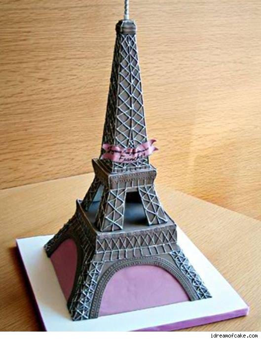 Eiffel Tower Wedding Cakes  Cake of the week 35 – Kate of the Week