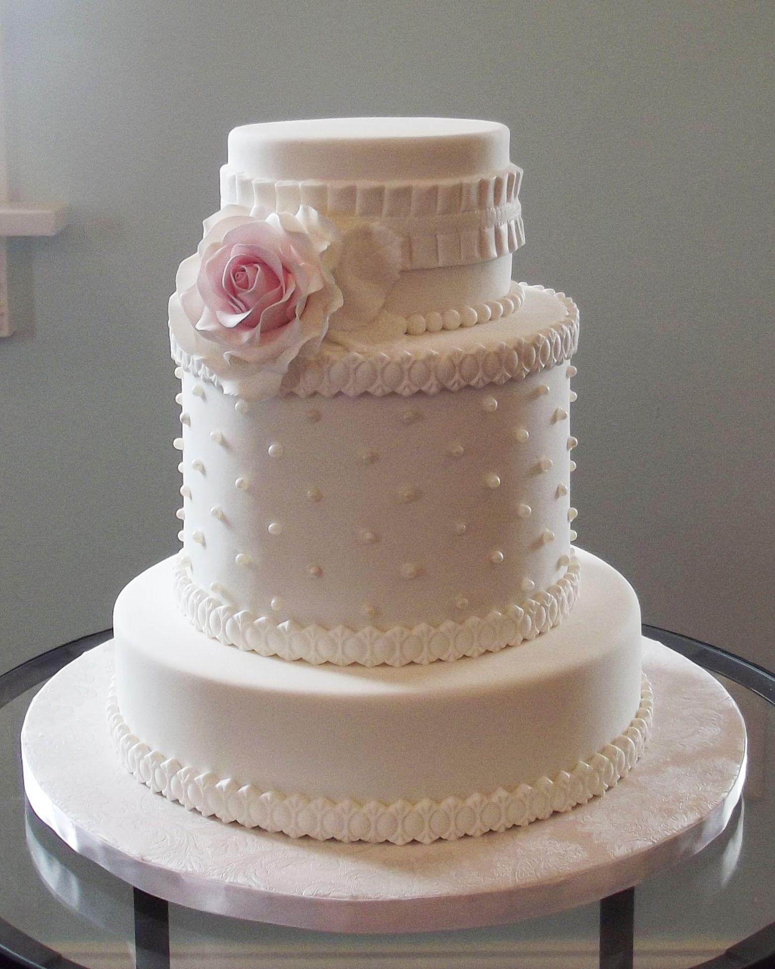 Elegant Buttercream Wedding Cakes  Pin Very Elegant Light Blue Buttercream Wedding Cake With