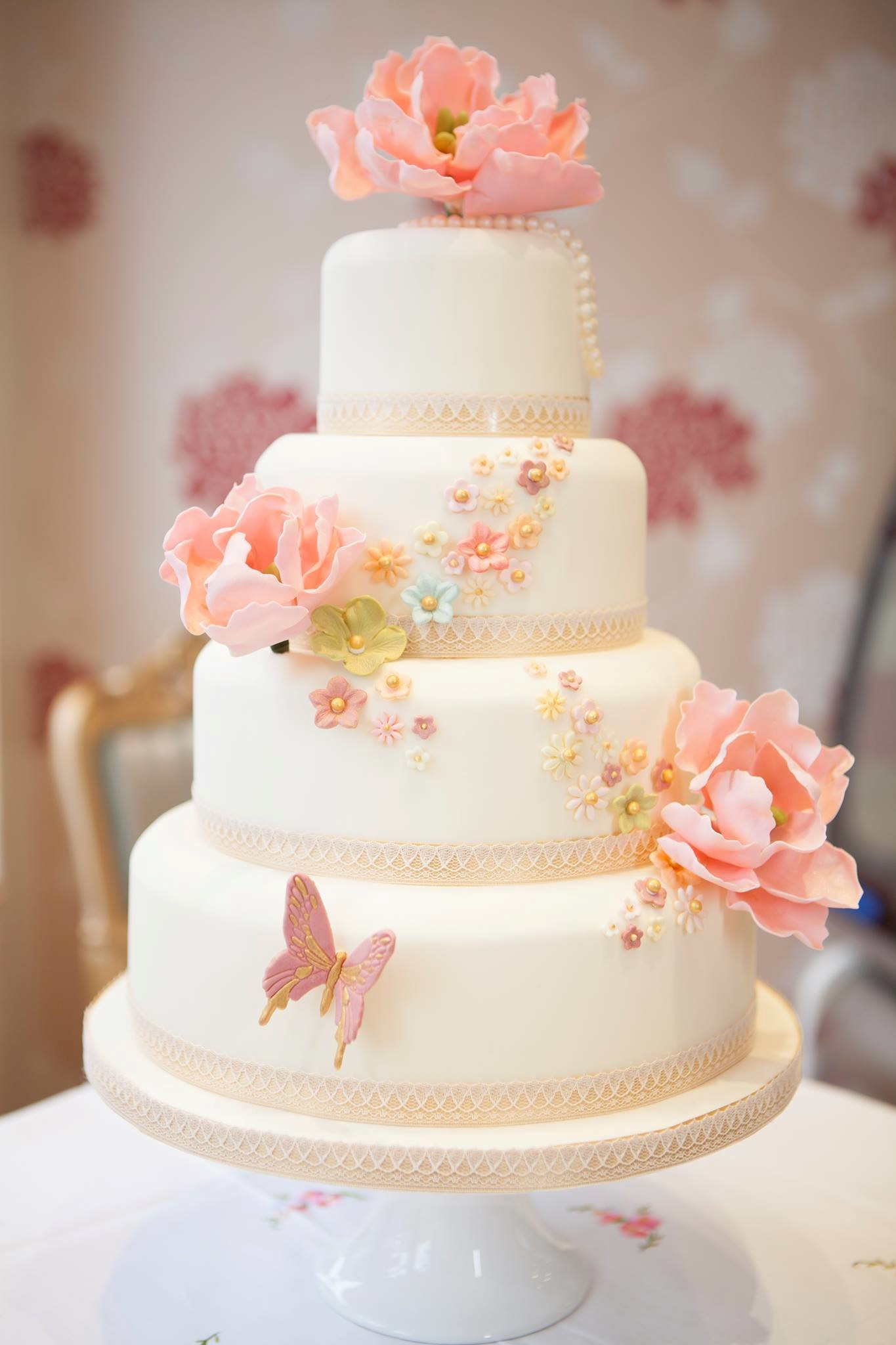 Elegant Wedding Cakes  Cute Elegant Wedding Cake