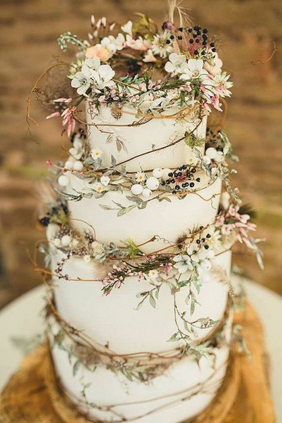 Elegant Wedding Cakes  45 Classy And Elegant Wedding Cakes Graceful Inspiration