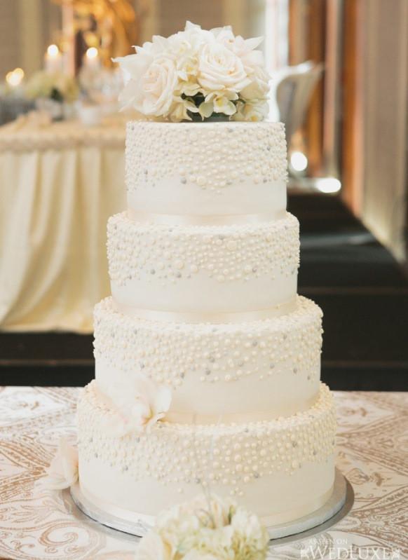 Elegant White Wedding Cakes  Elegant Island Weddings Archives Weddings Romantique