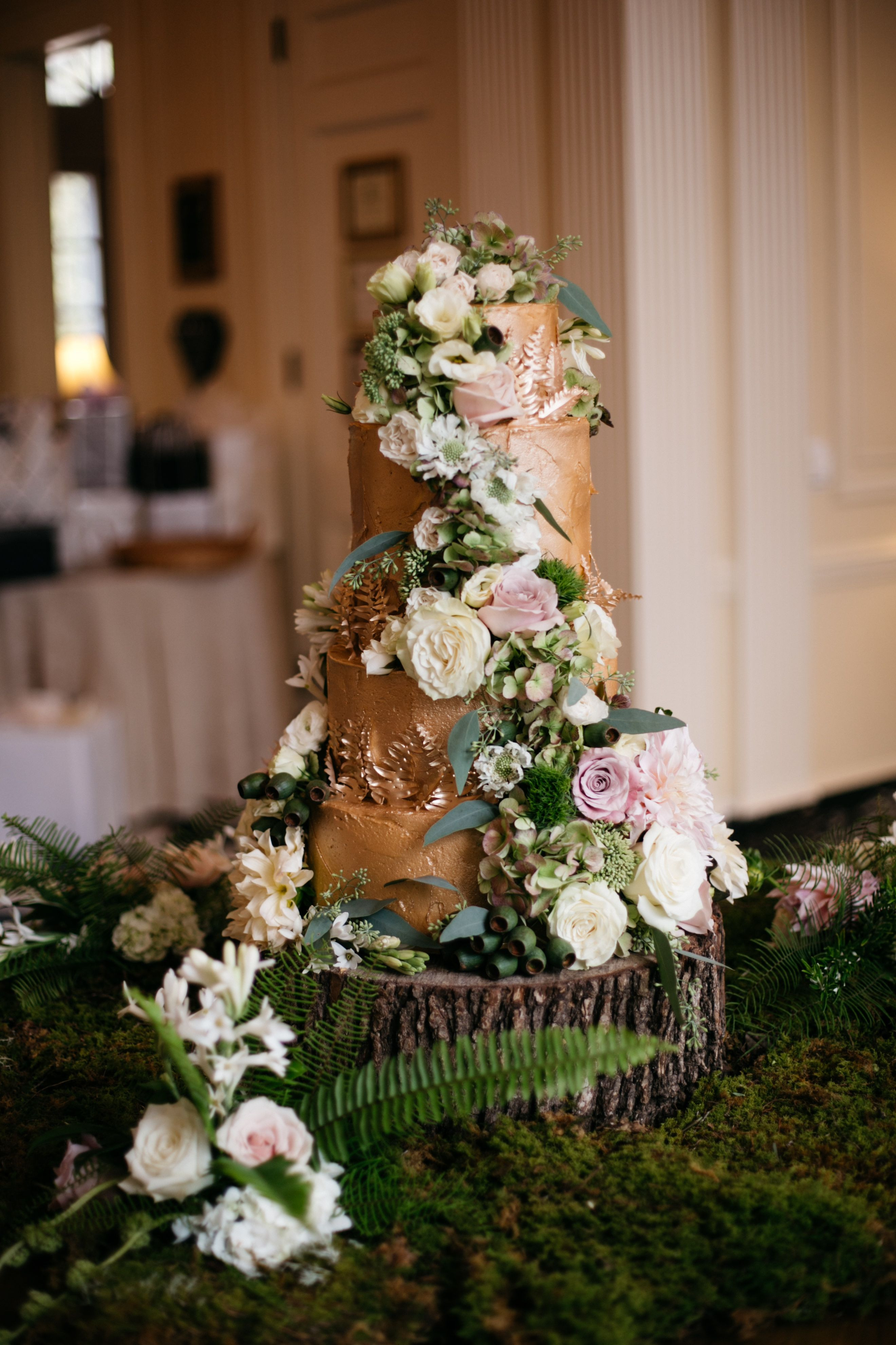 Enchanted Forest Wedding Cakes  Wedding Cake The Sky s the Limit Bridal Sweets