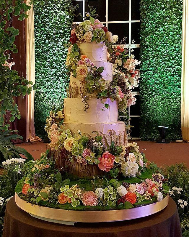 Enchanted Forest Wedding Cakes  Enchanted forest theme cake wedding cakes