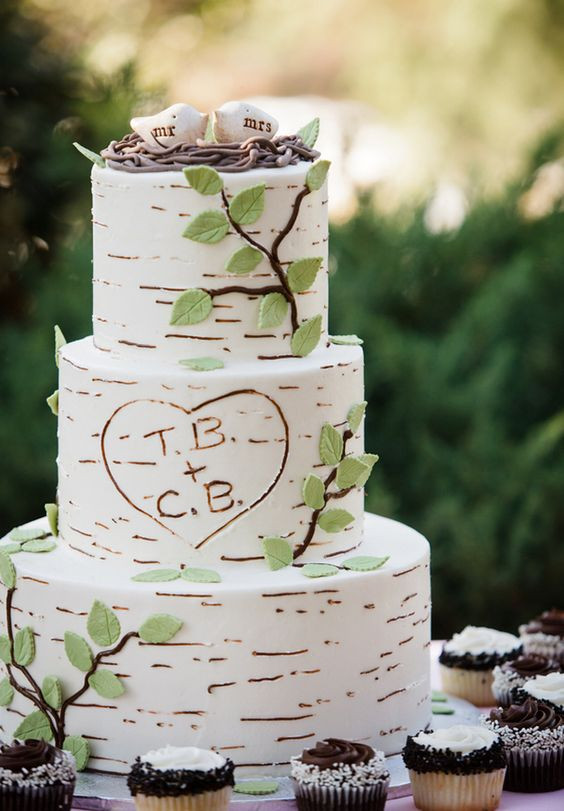 Enchanted Forest Wedding Cakes  Romantic Enchanted Forest Wedding Ideas Create The Dream