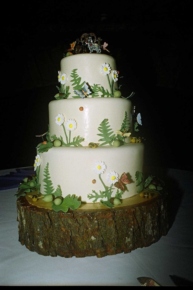 Enchanted Forest Wedding Cakes  25 best images about Enchanted forest grad on Pinterest