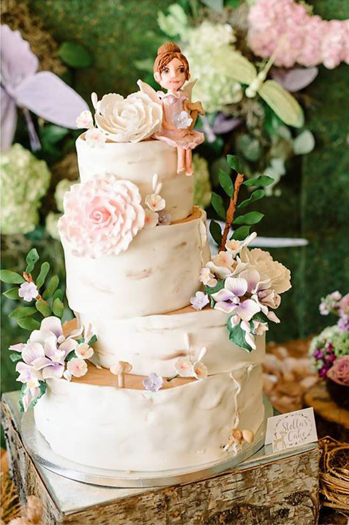 Enchanted Forest Wedding Cakes  Kara s Party Ideas Enchanted Woodland Forest Birthday