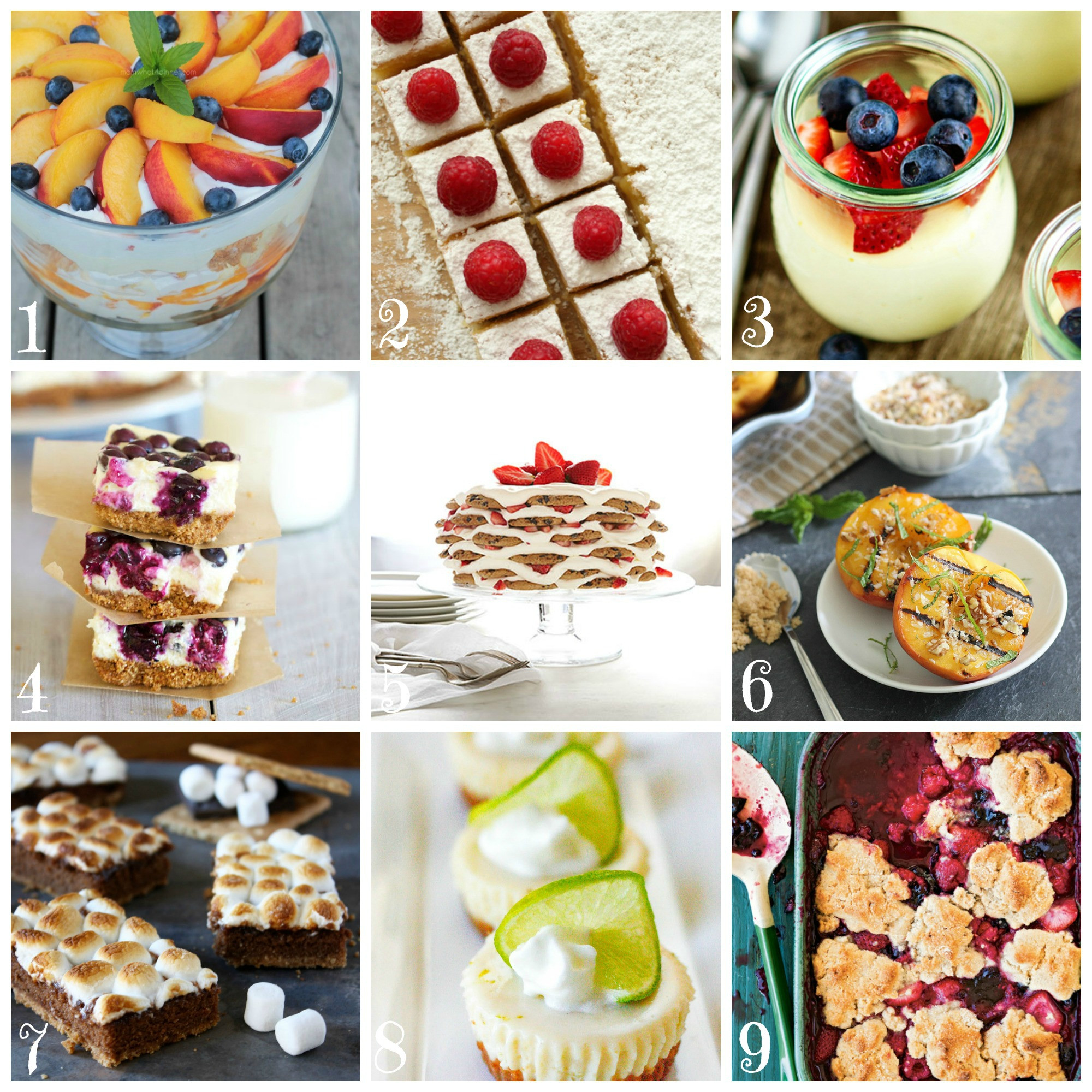 End Of Summer Desserts  Best Summer Dessert Recipes • CakeJournal