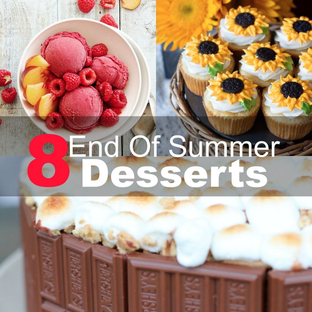 End Of Summer Desserts  8 End Summer Desserts 2015