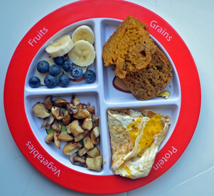 Examples Of Healthy Breakfast  49 best My Plate kids lunches Ideas images on Pinterest