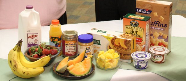 Examples Of Healthy Breakfast  s My Heart Challenge