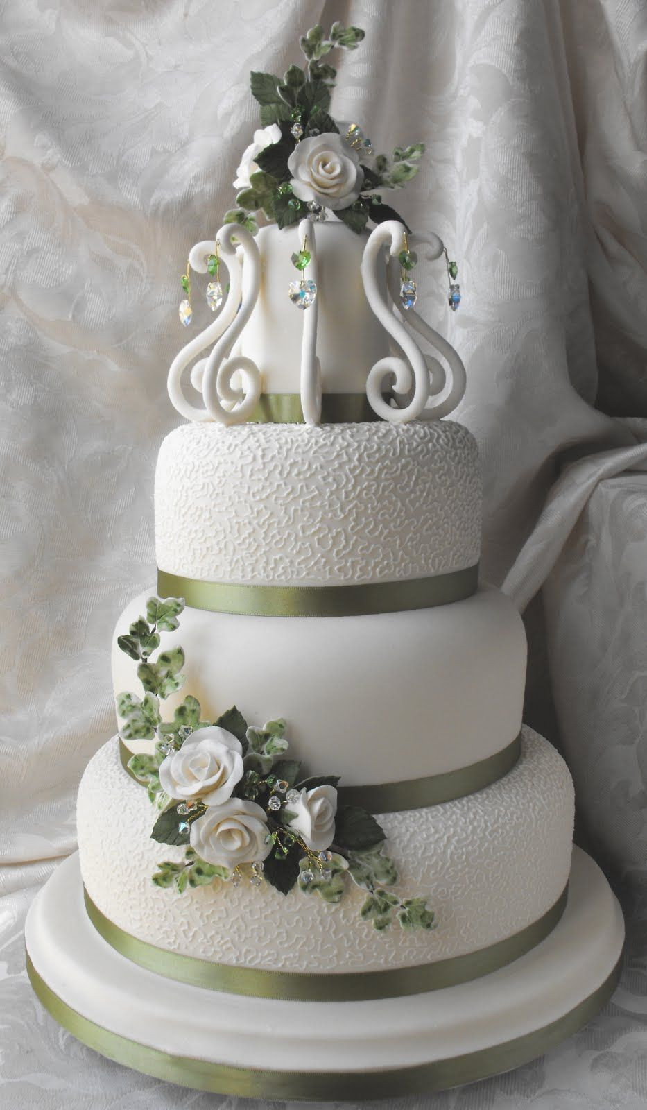 Expensive Wedding Cakes  This is one of the most expensive wedding cakes in the