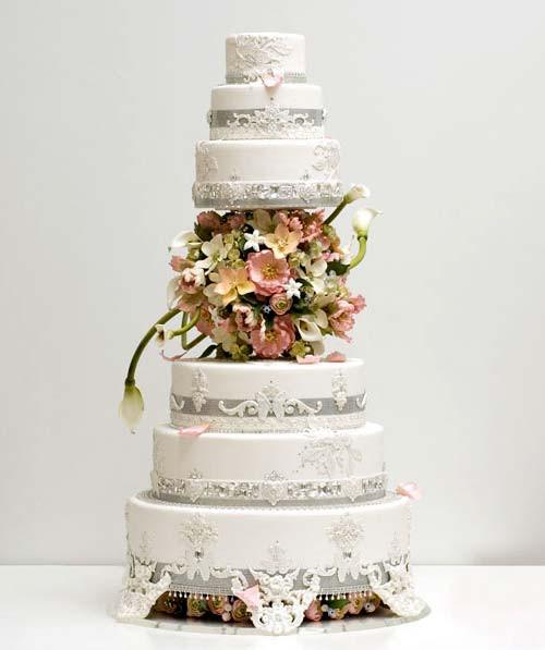 Expensive Wedding Cakes  Expensive Wedding Cakes for Extravagant Brides