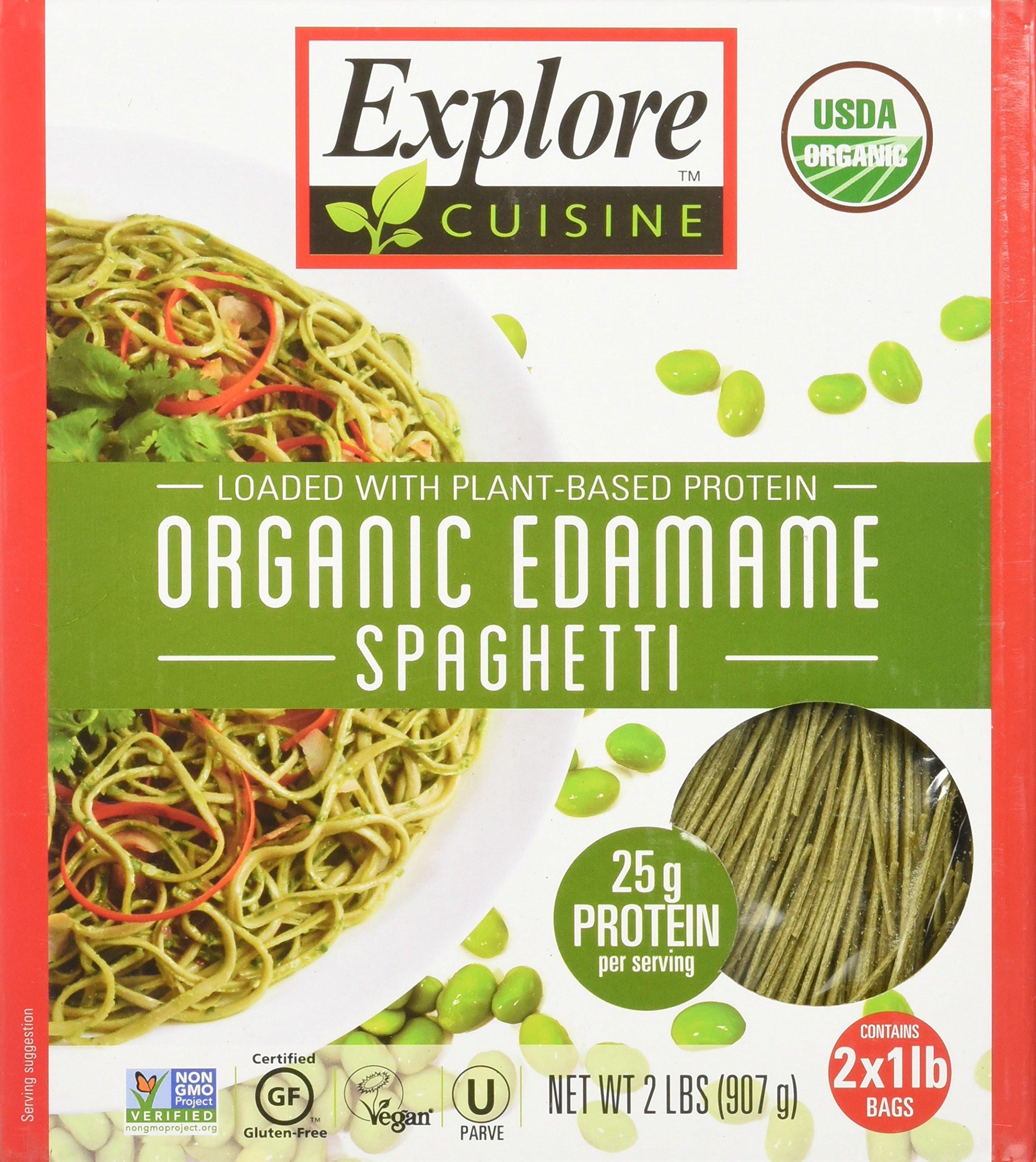 Explore Asian Organic Edamame Spaghetti  Amazon Explore Asia Organic Black Bean Spaghetti 8