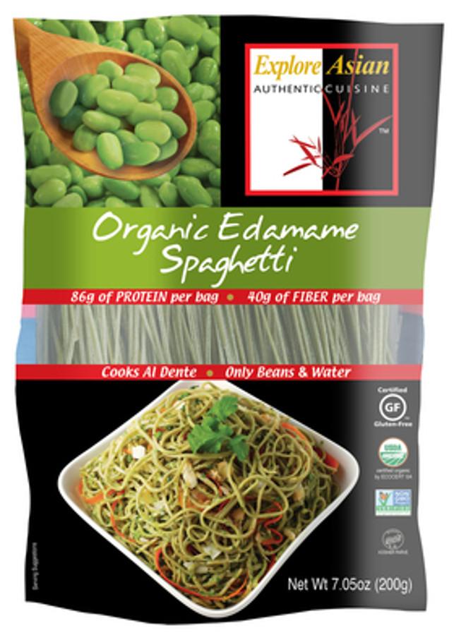 Explore Asian Organic Edamame Spaghetti  Explore Asian Edamame Spaghetti Pasta 200g Explore Asian