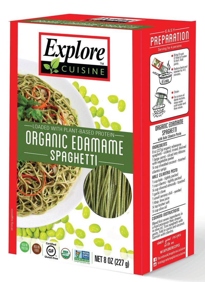 Explore Asian Organic Edamame Spaghetti  Ve able Based Noodles Edamame Spaghetti